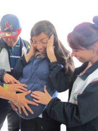 Chaleco Simulador prevención de Embarazo