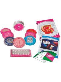 kit de métodos anticonceptivos reales