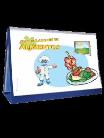 rotafolio manipuladores de alimentos