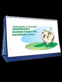 rotafolio de obtención y manejo de leches