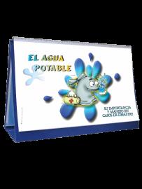 rotafolio de agua potable