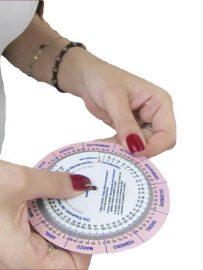 Gestograma o Disco Para Cálculo Tiempo De Gestación Y Parto