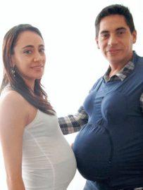 chaleco simulador de embarazo